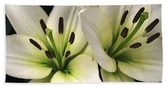 Oriental Lily Named Endless Love Hand Towel