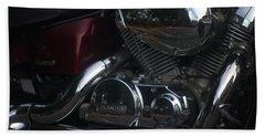 Original Motorcycle File Bath Towel