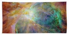 Orion Nebula Bath Towel