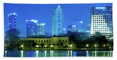 Orlando Across The Lake Bath Towel