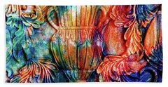 Ornamental Magic Abstract Realism Bath Towel