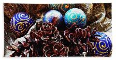 Ornaments 6 Hand Towel by Sarah Loft