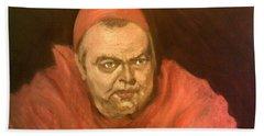 Orson Welles As Cardinal Wolsey Bath Towel