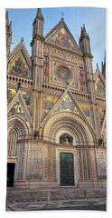 Orvieto Italy Cathedral Bath Towel