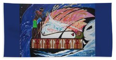 Osiris - Nepra Hand Towel by Sigrid Tune