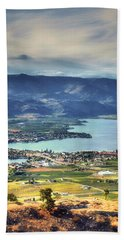 Osoyoos Lake 2 Bath Towel by Tara Turner