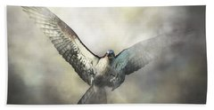 Osprey Hand Towel by Daniel Eskridge