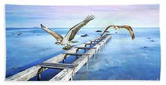 Osprey On The Move Hand Towel