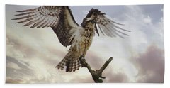 Osprey Wing Spread Bath Towel
