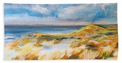 Ostend Dunes Hand Towel