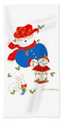 Otis Hollyberry And Friends Hand Towel