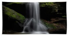 Otter Falls - Seven Devils, North Carolina Bath Towel