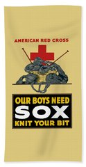 Our Boys Need Sox - Knit Your Bit Hand Towel