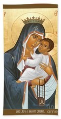 Our Lady Of Mount Carmel - Rlolc Hand Towel