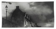 Bath Towel featuring the photograph Our Lady Wall Maastricht by Nop Briex