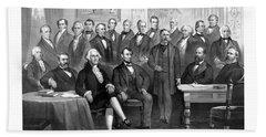 Our Presidents 1789-1881 Bath Towel
