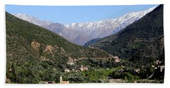 Hand Towel featuring the photograph Ourika Valley 2 by Andrew Fare