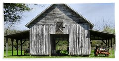 Out By The Barn Bath Towel by Laura Ragland