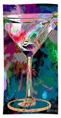 Out Of This World Martini Hand Towel by Jon Neidert