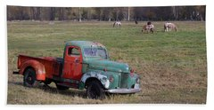 Out To Pasture Hand Towel