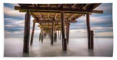 Outer Banks Nc Seascape Nags Head North Carolina Bath Towel