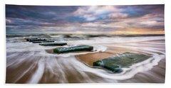 Outer Banks North Carolina Beach Sunrise Seascape Photography Obx Nags Head Nc Hand Towel