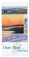 Outer Banks North Carolina Bath Towel by Joni Eskridge