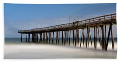 Outer Banks Pier Hand Towel