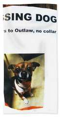Hand Towel featuring the photograph Outlaw by Joe Jake Pratt