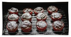 Oven Fresh Cupcakes Bath Towel