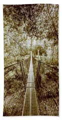 Over Australian Native Forests Bath Towel
