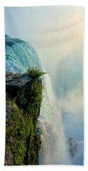 Over The Falls II Hand Towel