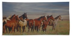 Hand Towel featuring the photograph Over The Fenceline by Amanda Smith