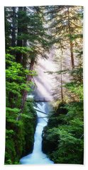 Over The River And Through The Woods Hand Towel
