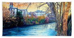 Over The River Hand Towel
