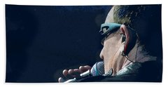Over The Shoulder Of Bono Hand Towel