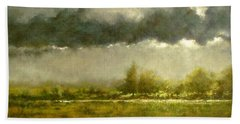 Overcast Day At The Refuge Hand Towel