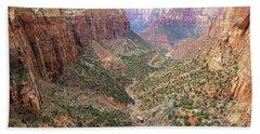 Overlook Canyon Hand Towel