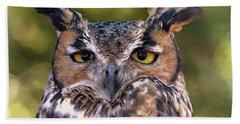 Owl Eyes Hand Towel
