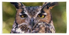 Owl Eyes Bath Towel