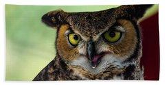 Owl Tongue Bath Towel