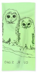 Owlz R Us Bath Towel