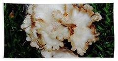 Oyster Mushroom Bath Towel