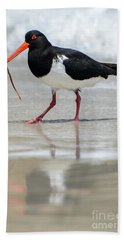 Oystercatcher 03 Bath Towel