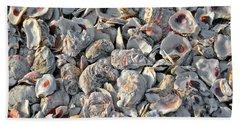 Oysters Shells Bath Towel