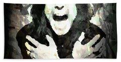 Ozzy Osbourne By Enki  Hand Towel