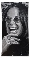 Ozzy Hand Towel by William Underwood