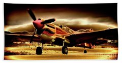 P-40 Warhawk Blazrd Hand Towel