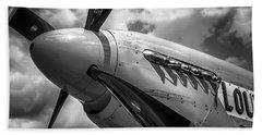 P-51 Mustang Series 3 Bath Towel