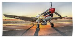P40 Warhawk At Sonoma Hand Towel